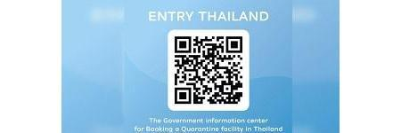 'Entry Thailand' online information centre launched for vaccinated international visitors